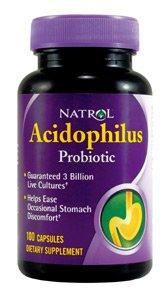 Acidophilus 100 mg 100 Cap 1 Mfg. By Natrol