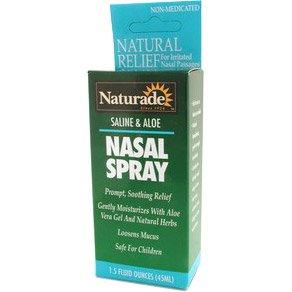 Image 0 of Saline & Aloe Nasal Spray 1.5 oz 1 By Naturade