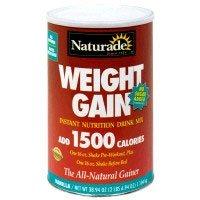 Image 0 of Sugar Free Weight Gain 40 oz 1 By Naturade