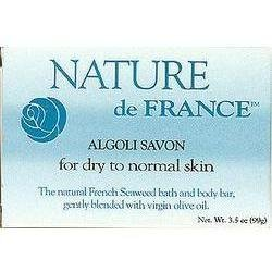 Algoli (Seaweed) Soap 3.5 oz 1 By Nature De France