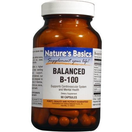 B-100 Balanced 90 Cap 1 By Natures Basics