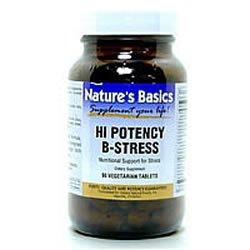 Image 0 of B-Stress Hi Potency 90 Vtab 1 By Natures Basics