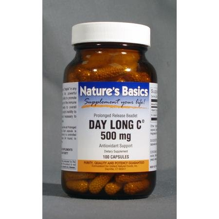 Image 0 of Day Long C 500mg 100 Cap 1 By Natures Basics