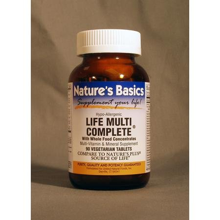 Image 0 of Life Multi Complete  90 Tab  1 By Natures Basics