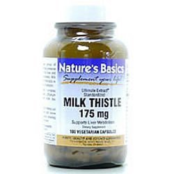 Image 0 of Milk Thistle 175mg 100 Vcap 1 By Natures Basics