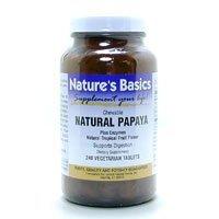 Image 0 of Papaya Chewable 90 Vtab 1 By Natures Basics