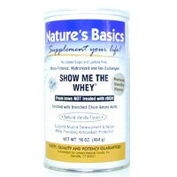 Image 0 of Protein Powder Show Me Whey 16 oz 1 By Natures Basics