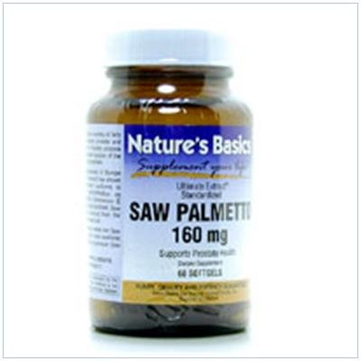 Image 0 of Saw Palmetto 160mg 120 Sgel 1 By Natures Basics