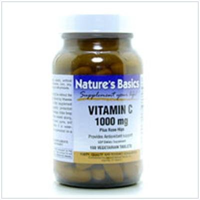 Image 0 of Vit C 1000mg & Rosehips 100 Vtab 1 By Natures Basics