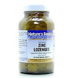 Image 0 of Zinc 25mg Lozenges W/ C 120 By Natures Basics
