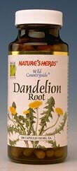 Image 0 of Dandelion Root 100 Cap 1 By Natures Herbs