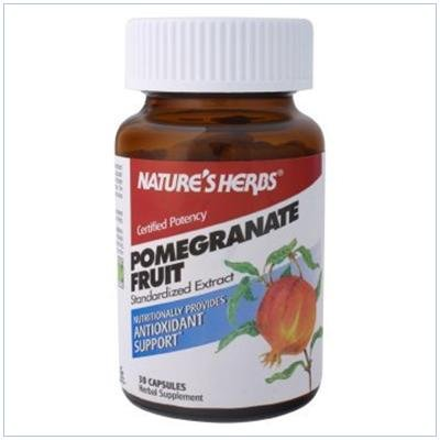 Image 0 of Pomegranate Fruit Extract 60 Cap 1 By Natures Herbs