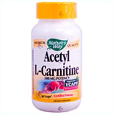Image 0 of Acetyl L-Carnitine 60 Vcap 1 By Natures Way