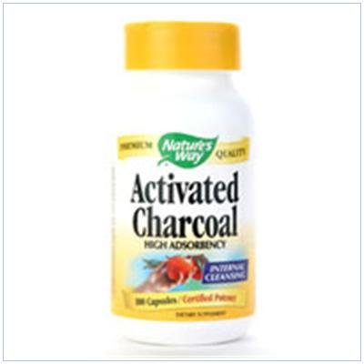 Image 0 of Activated Charcoal 100 Cap 1 By Natures Way