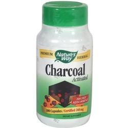 Activated Charcoal 100 Cap 1 By Natures Way