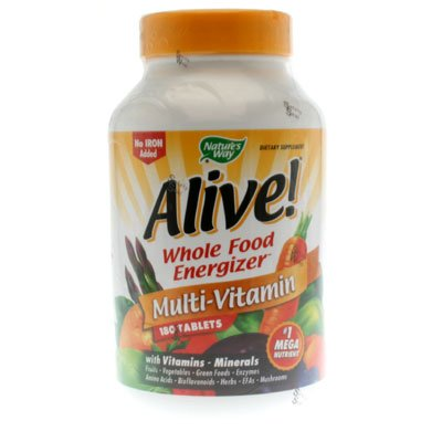 Image 0 of Alive No Iron Added 180 Tab 1 By Natures Way