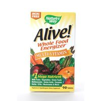 Image 0 of Alive No Iron Added 90 Tab 1 By Natures Way
