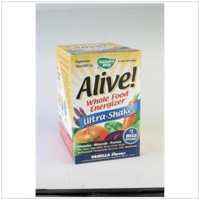 Image 0 of Alive Ultra Shake Vanilla 10 Pkt 1 By Natures Way