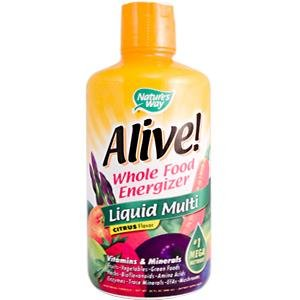 Image 0 of Alive! Liquid 30 oz 1 By Natures Way