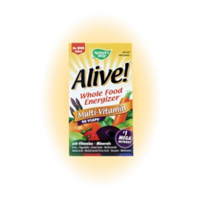 Image 0 of Alive! No Iron 90 Cap 1 By Natures Way