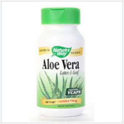 Image 0 of Aloe Vera Latex & Leaf 100 Cap 1 By Natures Way