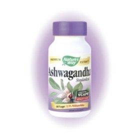 Image 0 of Ashwagandha Veg Caps 60 Vcap 1 By Natures Way