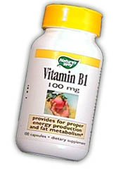 Image 0 of B-1 100 mg 100 Cap 1 By Natures Way