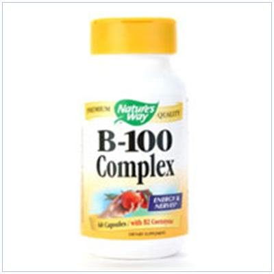 Image 0 of B-100 Complex 60 Cap 1 By Natures Way