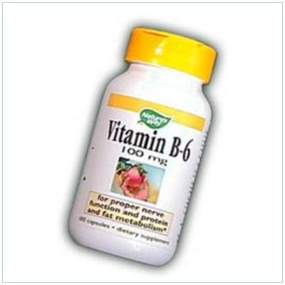 Image 0 of B-6 100 mg 100Cap 1 By Natures Way