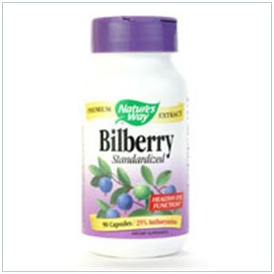 Image 0 of Bilberry Standardized 60 Cap 1 By Natures Way