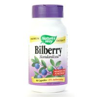 Image 0 of Bilberry Standardized 90 Cap 1 By Natures Way