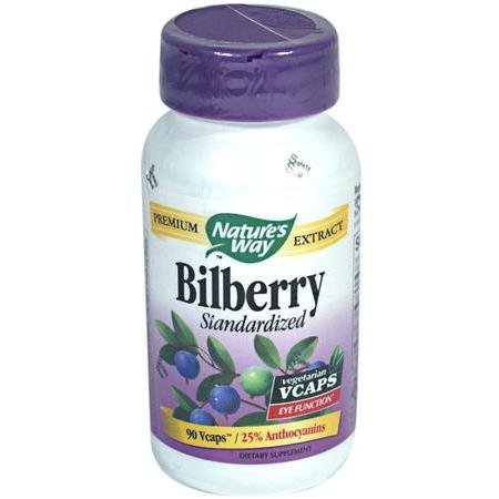 Image 0 of Bilberry Vcap Std 90 Cap 1 By Natures Way