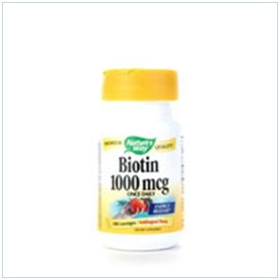 Image 0 of Biotin 1000 Mcg Lozenge 100 Loz 1 By Natures Way