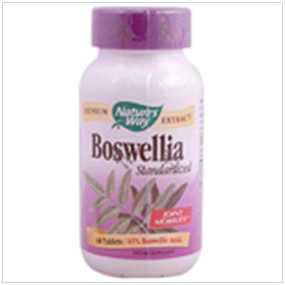 Image 0 of Boswellia Ext Standardizd 60 Cap 1 By Natures Way