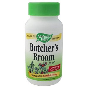 Image 0 of Butchers Broom Root 100 Cap 1 By Natures Way