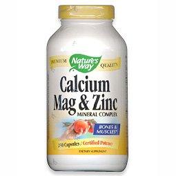 Image 0 of Calcium Magnesium & Zinc 100 Cap 1 By Natures Way