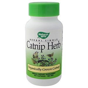Image 0 of Catnip Herb Organic 100 Cap 1 By Natures Way