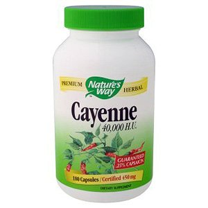 Image 0 of Cayenne 180 Cap 1 By Natures Way