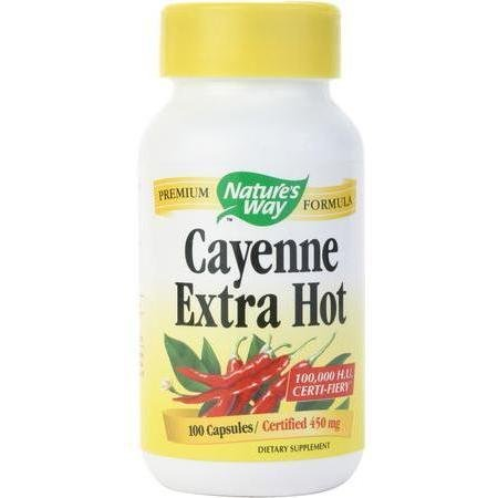 Image 0 of Cayenne Extra Hot 10000Hu 100 Cap 1 By Natures Way