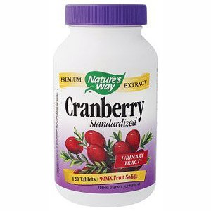 Image 0 of Cranberry 120 Tab 1 By Natures Way