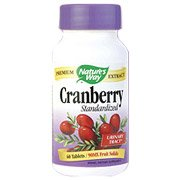 Image 0 of Cranberry Extract 60 Tab 1 By Natures Way