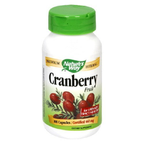 Image 0 of Cranberry Fruit 465 mg 100 Cap 1 By Natures Way