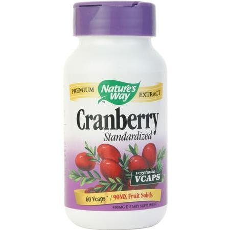Image 0 of Cranbry Ext Vcap Std 60 Cap 1 By Natures Way