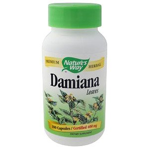 Image 0 of Damiana 100 Cap 1 By Natures Way