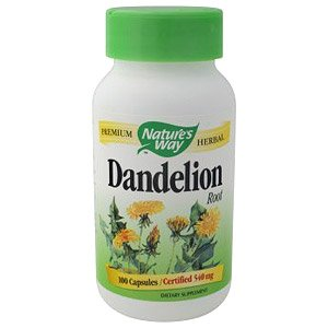 Image 0 of Dandelion Root 100 Cap 1 By Natures Way