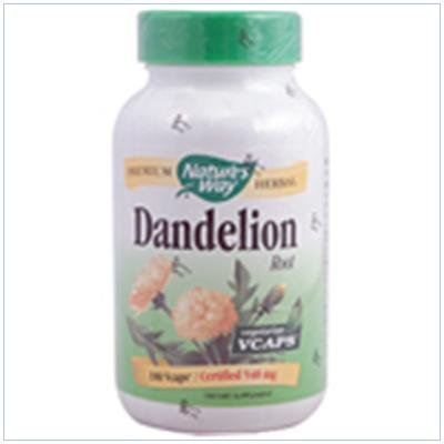 Image 0 of Dandelion Root 180 Vcap 1 By Natures Way