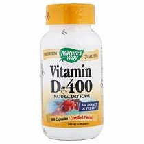 Image 0 of Dry Vitamin D 400 Units 100 Cap 1 By Natures Way