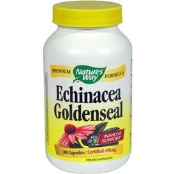Image 0 of Ech/Gld Seal Organic Combo 180 Cap 1 By Natures Way