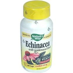 Image 0 of Echinacea Organic 100 Cap 1 By Natures Way