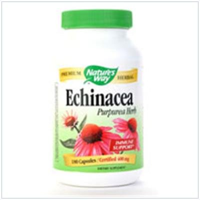 Image 0 of Echinacea Organic 180 Cap 1 By Natures Way